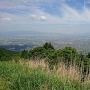三の郭から筑後平野の眺望