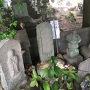 草津城主児玉就方が保護した山中鹿之助の次女盛江の墓