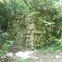 本丸跡の石段です。