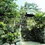 石垣と鉄櫓