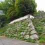 黒田氏時代の石垣