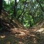 竪堀(二の木戸)