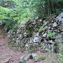 山王丸下の大石垣