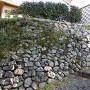 東高木家土蔵の石垣