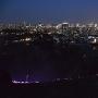 城址より仙台の夜景