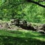 本丸の石垣跡