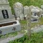 阿波公方5代目平島義景の墓