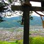 三の郭の神社からの眺望