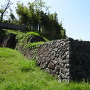 埋門の石垣