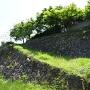 長屋門下の石垣