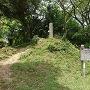 案内板と石碑(焼米ヶ原)