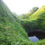 堀切(畝堀)◆茶臼郭と小郭