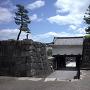 本丸東門の枡形虎口(上から)