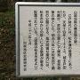 犬甘城山の説明板