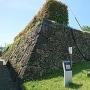 二の丸御殿跡の石垣