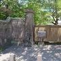 昔の大龍小学校の門柱