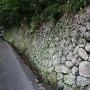 清瀧寺への石垣