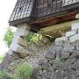 戌亥櫓の一石垣