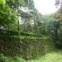 神社近くの石垣