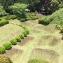 初夏の城跡