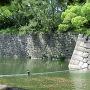 外濠と石垣