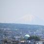 天守展望台より富士山