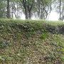 安芸城 北の段土塁