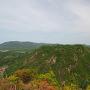 安芸高山城を望む