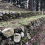 本丸の石垣上部