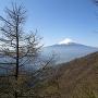 標高1600m付近からの富士山