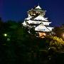 逆さ錦城(夜)