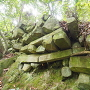 柱状節理の石垣②