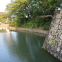 北御門の石垣と内堀