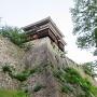高石垣の上の巽櫓
