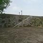 修復された石垣