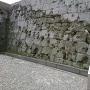 石垣(西南戦争の傷痕)