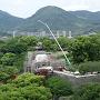 飯田丸五階櫓の工事現場