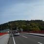 潮江城 遠景
