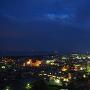 天守から見る夜の街並み