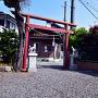 上野原城跡 (稲荷神社)