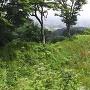 米倉跡の土塁