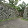 天守への登城口