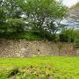 本丸奥西側の石垣(南側)