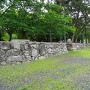 琵琶湖側の石垣