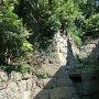 石垣(妙見神社の社殿裏手)