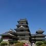 松本城へ着いたよ