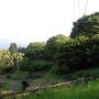 岩尾城 2の丸 遠景