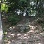 中の丸入口の石段