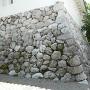天守石垣(石灰岩)