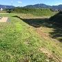 土塁と堀跡